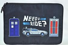 "Back To The Futrue Delorean 14"" Laptop iPad Tablet Case Bag Carry Sleeve Cover"