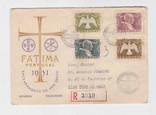 portugal 1951 Sc 731/4 Holy year Reg.FDC     q1950