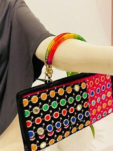 Women Clutch Bag Ladies Wallet Purse Handbag Wristlet Phone Card Coin Zip Holder
