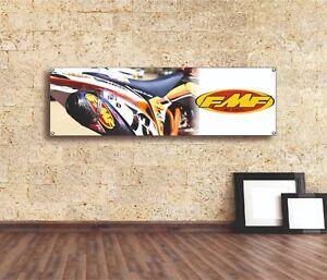 FMF Sign Logo Vinyl Banner Flag Garage Workshop Adversting Auto Car Shop Racing