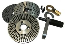 "Indexing Plates set of 3 plates Used for Rotary Table 4"" HV4 and HV6 150mm / 6"""