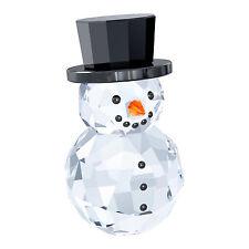 SWAROVSKI SNOWMAN WITH HAT BRAND NIB #5135852 CRYSTAL CHRISTMAS WINTER CUTE