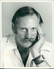 1976 Portrait of Ben Davidson of Ball Four Original News Service Photo