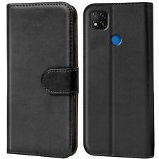 Book Case für Xiaomi Redmi 9C Hülle Flip Cover Handy Tasche Schutz Hülle Etui