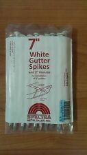 """7"""" White Gutter Nails Spikes and 5"""" Ferrules 230 pcs"""