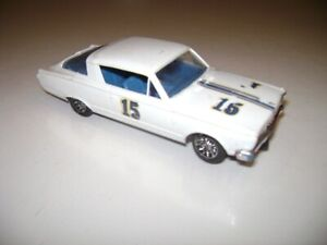 Plymouth Barracuda Strombecker Slot Car  1/32 scale vintage works