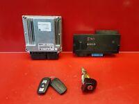 BMW E90 320D KIT DEMARRAGE CALCULATEUR REF 0281012501 7798180