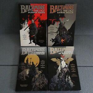 Baltimore Dark Horse SET 1-4 Plague Ship Curse Bell Passing Stranger Chapel Bone