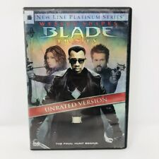 Blade Trinity (Unrated Version) DVD Free Shipping