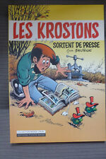 BD les krostons sortent de presse HS n°1 TL 1000 ex. EO 1996 TBE deliege (bobo)