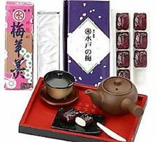megahouse dollhouse miniature gift plum dessert tea set  re-ment