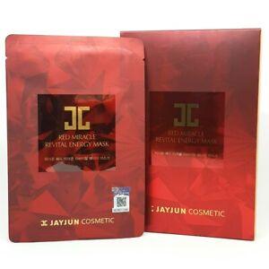JAYJUN Red Miracle Revital Energy Mask Pack 18ml x 10ea Wrinkle Care K-Beauty