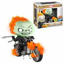 Marvel Classic Ghost Rider with Bike GitD Funko Pop! Vinyl Figure - PX Excl