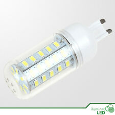 Bombilla Mazorca LED G9 (Bi Pin) 48 SMD 5730 360º Blanco Puro 110-240V - 12W