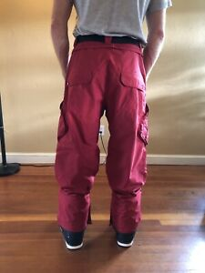 snowboard pants men's Large Volcom