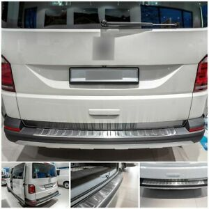 Edelstahl Ladekantenschutz für VW T6 T6.1 Multivan Cali 5 J. Garantie 2015-