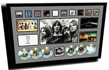 PINK FLOYD SIGNED LIMITED EDITION FRAMED MEMORABILIA