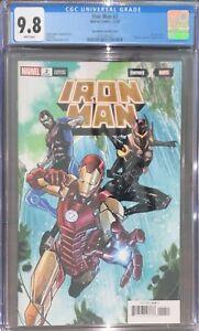 Iron Man #2 Fortnite Variant CGC 9.8