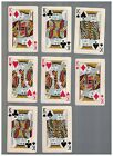 8 - C1937 Chesapeake And Ohio Lines Swap Playing Cards - KINGS With Chessie