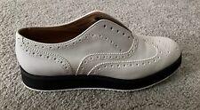 Women's RAG & BONE 'Meli Brogue' Wingtip Shoes 39 White