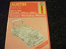 Haynes Owners Workshop Manual - AUSTIN MAXI - 1969-1981 - 1485cc & 1748cc