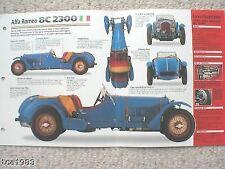 Catálogos de motor Alfa Romeo