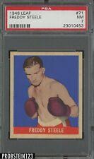 1948 Leaf Boxing #71 Freddie Steele PSA 7 NM