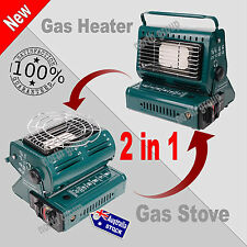 Portable Butane Gas Heater Outdoor Camping Camp Tent Hiking Heating BBQ Grill