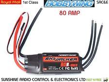 RC Esc HOBBYWING Skywalker Original 80 Amp regulador electrónico de la velocidad con bananas