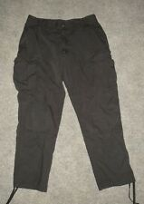 511 TACTICAL 74003 BLACK CARGO PANTS Heavyweight Mens sz 36 x 32 FREE SHIP