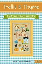 Hello Autumn~Trellis & Thyme