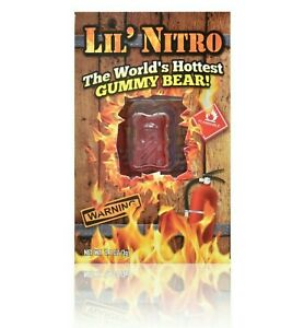 Lil' Nitro Gummy Bear | Worlds Hottest Gummy Bear | Free and Fast Shipping