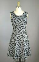 41 Hawthorne Stitch Fix Floral Plaid Print Fit & Flare Dress Size Small