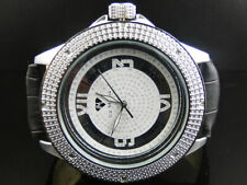 Mens New Ice Mania JoJo Joe Rodeo 50 MM Iced Real Diamond Watch IM3028
