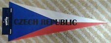 Czech Republic Full Size country Pennant olympics hockey soccer