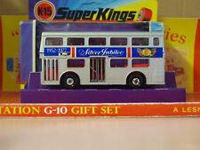 Vintage Matchbox Lesney SUPER KINGS K-15 Silver Jubilee The Londoner
