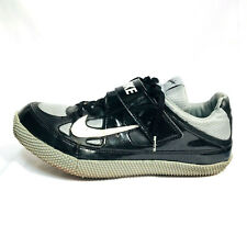 Nike Zoom HJ 3 lll High Jump Spikes Shoes Mens Size 13 Black Gray 317645 002