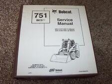Bobcat Ingersoll Rand 751 BICS Skid Steer Loader Shop Service Repair Manual