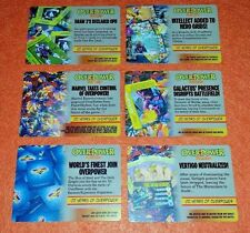 OVERPOWER Limited Collector 20 Year OP Anniversary SET Mission Event 13 cards