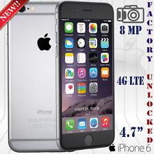 Apple Iphone 6 (32GB) Network UNLOCKED 4G LTE iOS HD Phone NEW - Gray