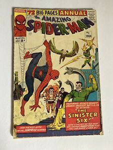 Amazing Spider-man #1 Annual First Appearance Sinister Six