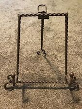 Twisted Wire Easel Display Stand Art Book Picture Plate Dish