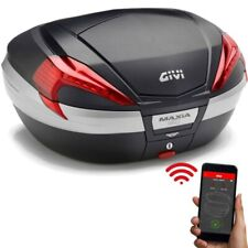 Givi V56 Maxia 4 Monokey Top Case IN Carbon Look Incl. Opening Kit Keyless 2.0