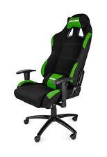 AKRACING K7 Gaming Chair Black Green Office PC Ergonomic Comfortable
