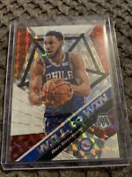2019-20 Panini Silver Prizm Mosaic WILL to WIN Basketball Card BEN SIMMONS #15