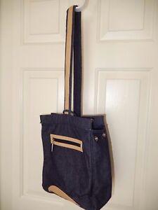 Bath & Body Works Denim Shoulder Bag Purse Bucket Bag Tote