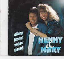 Henny&Mary-Alles Komt Weer goed cd single