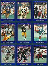 1990 JOGO CFL FOOTBALL SR 2 SET 110 card NM Doug Flutie rc Danny Mcmanus rookie
