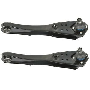 Pair Set 2 Front Lower Control Arm Ball Joint Assemblies for Fairlane Comet Moog