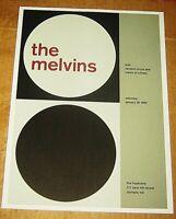 THE MELVINS ROCK CONCERT POSTER SWISS PUNK GRAPHIC POP ART TROPICANA OLYMPIA WA